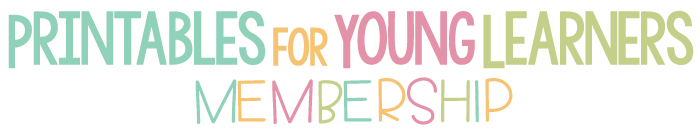 Printables for young learners membership