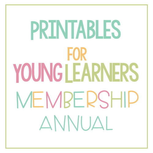 Printables for Young Learners Annual Membership